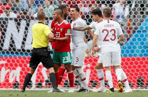 المغرب ضد البرتغال